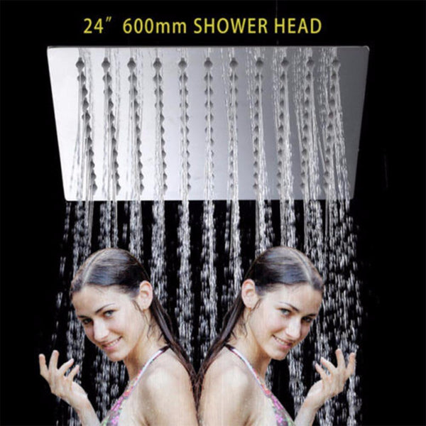 24 Inch Rain Shower Head Ultra-thin 24 Inch Rain Shower Head Ultra-thin FLUXURIE.COM