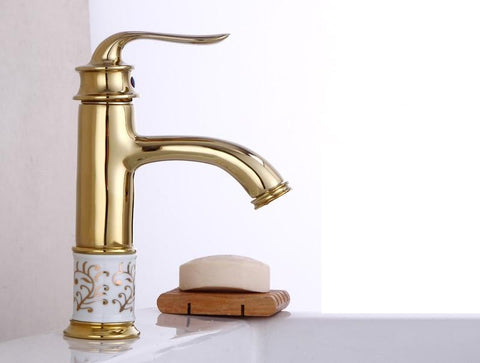 Beautiful Antique Designer Bathroom Faucet FLUXURIE.COM