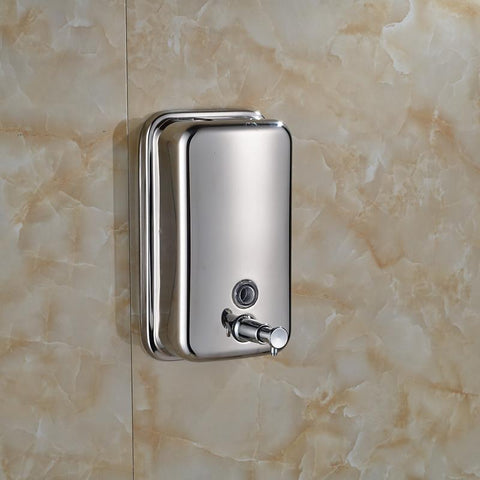 Chrome Stainless Steel Wall Mounted Shower Soap Dispenser Chrome Stainless Steel Wall Mounted Shower Soap Dispenser Rozin