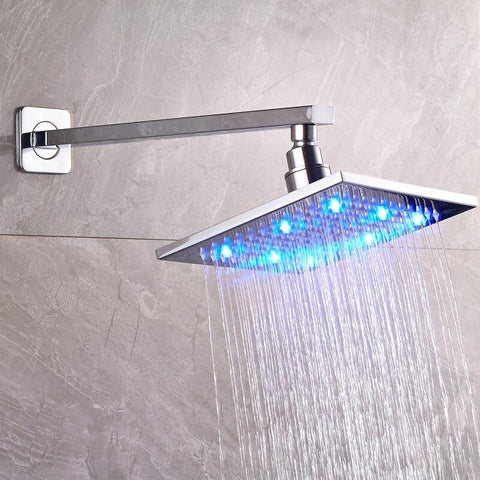 Refined LED Shower Panel and Shower Head Free Combination Wall Mounting Chrome - CESA Cesa FLUXURIE.COM