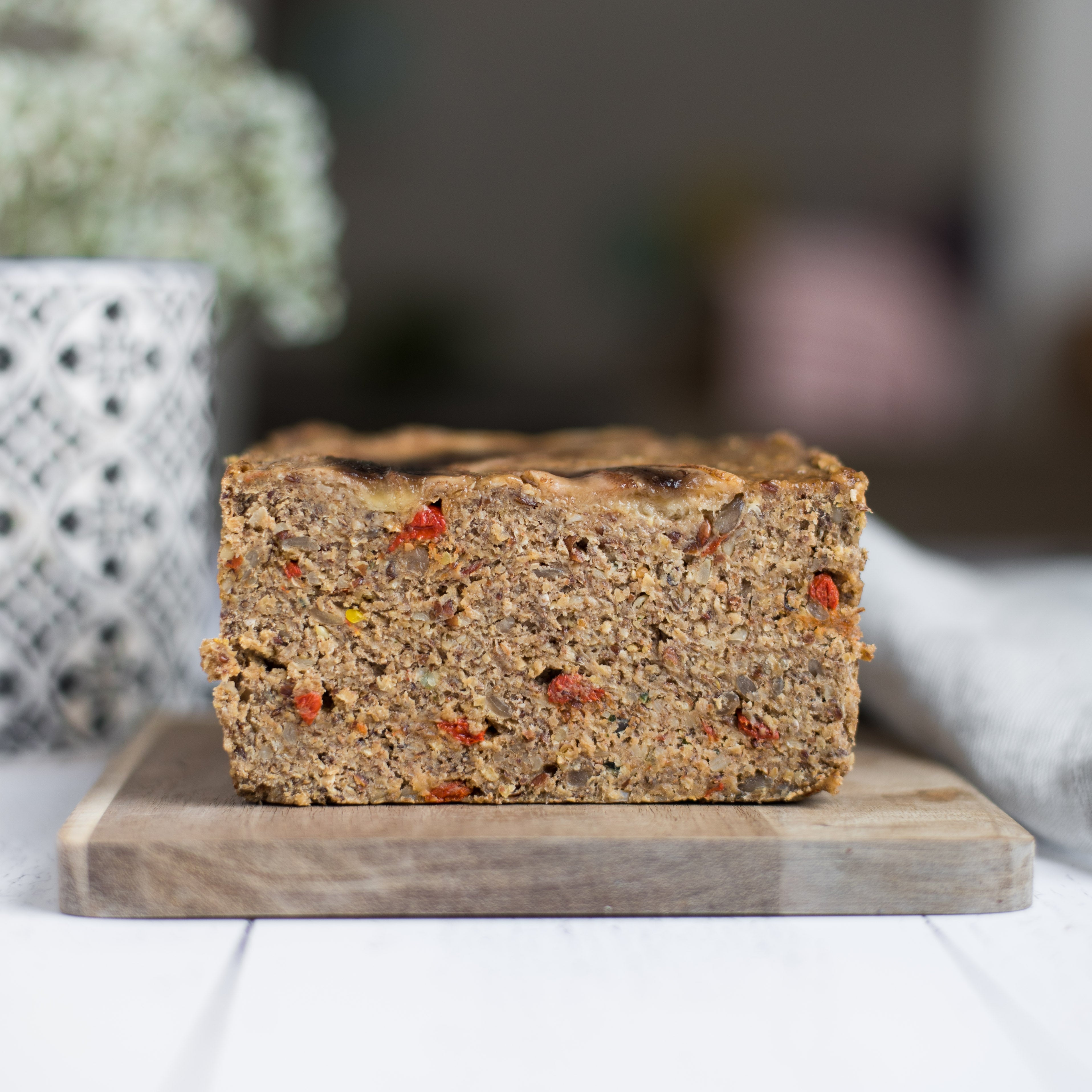 Superseed Banana Bread - aus glutenfreien Zutaten