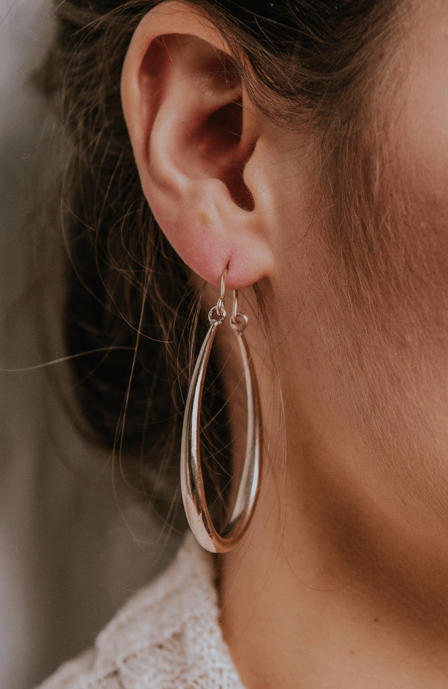 Luxe Hoop Earrings- Gold - Olive Gypsy Boutique