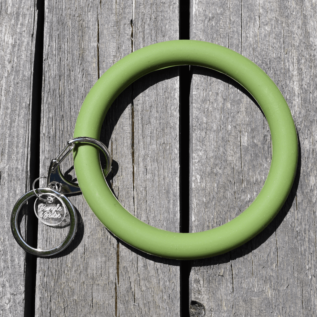 Bracelet Key Ring - Army Green - Olive Gypsy Boutique