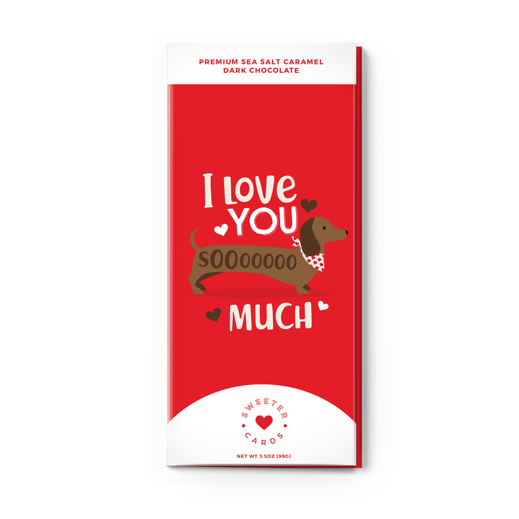 "Sweeter Cards - Valentine's Day Card ""I Love You SoOoO Much"" - Olive Gypsy Boutique"