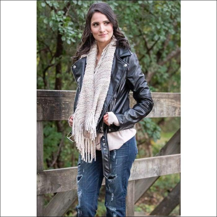 Chunky Knit Infinity Scarf - Olive Gypsy Boutique