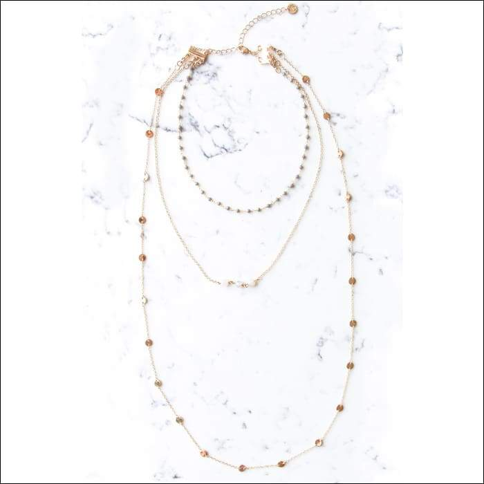 Delilah Layered Necklace - Jewelry - Necklace