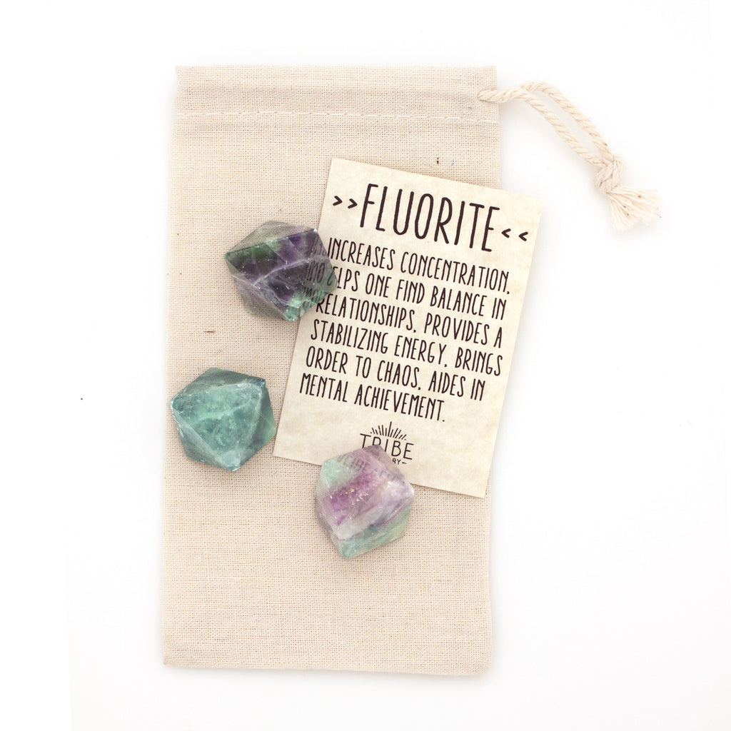 Hiouchi Jewels - Fluorite Crystal Set - Olive Gypsy Boutique