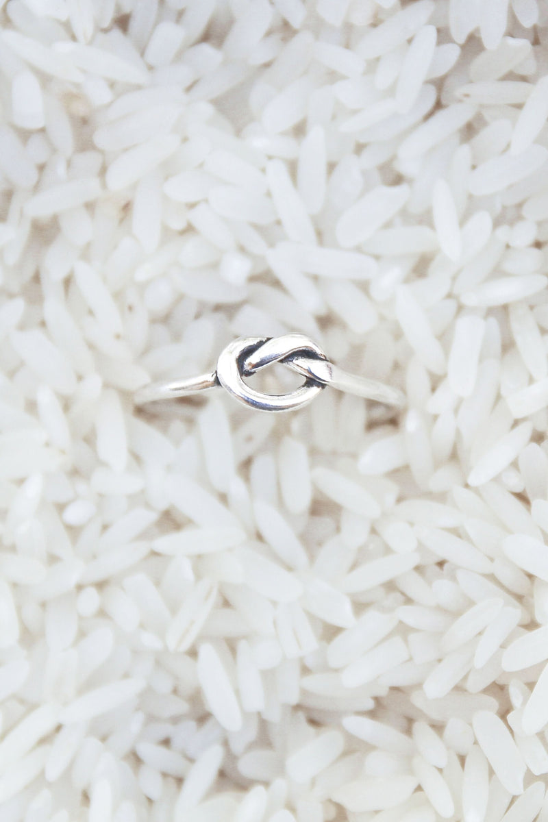 Knot Ring - Silver - Olive Gypsy Boutique