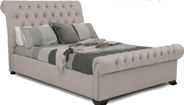 REBECKA Fabric Bed Frame - Australian Made Bed Frames