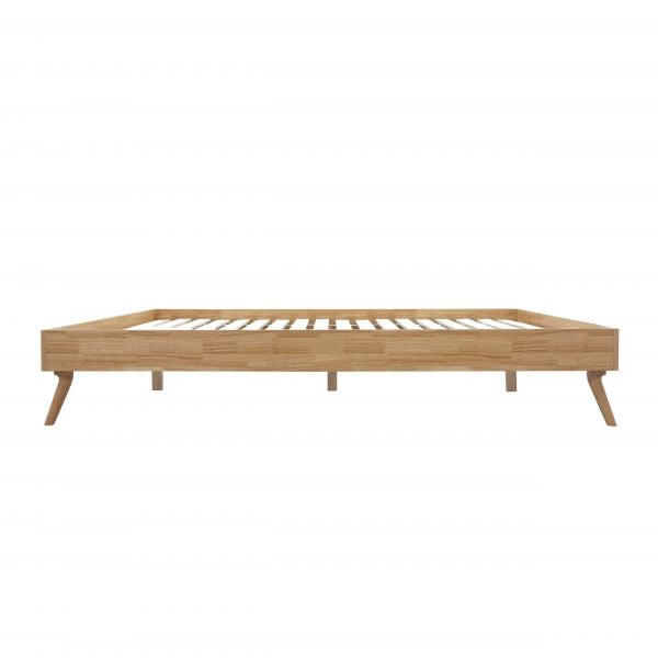 SCANDI Wood Oak Designer Bed Base