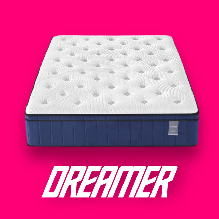 DREAMER plush cool gel mattress 20 year warranty