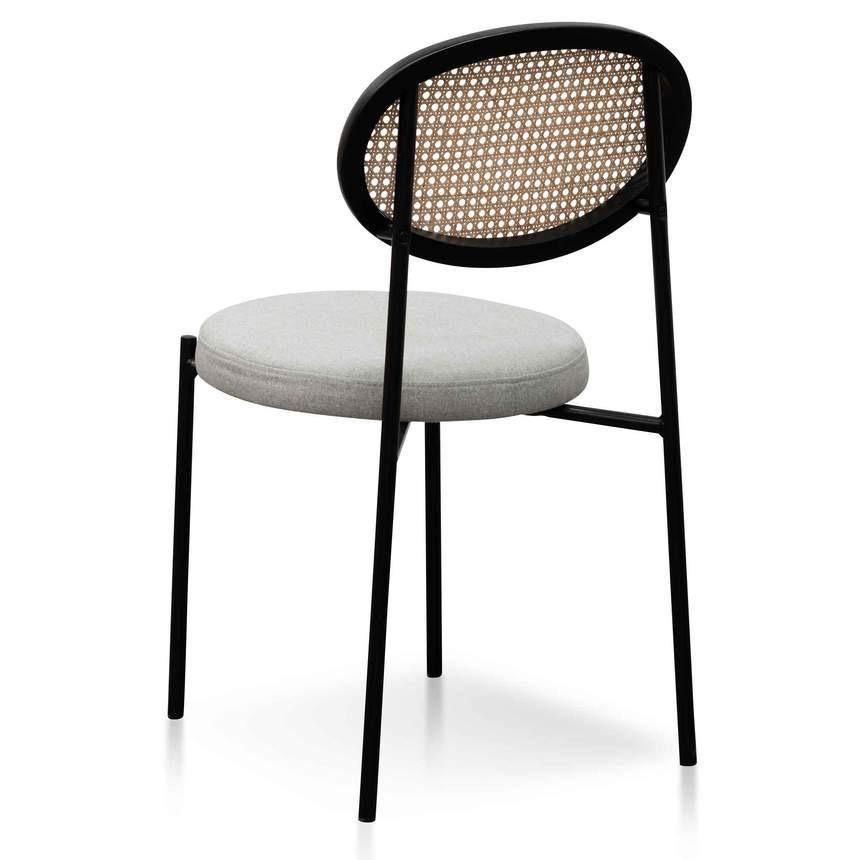 JAMESY grey chair Statement Chairs WYLD HOME