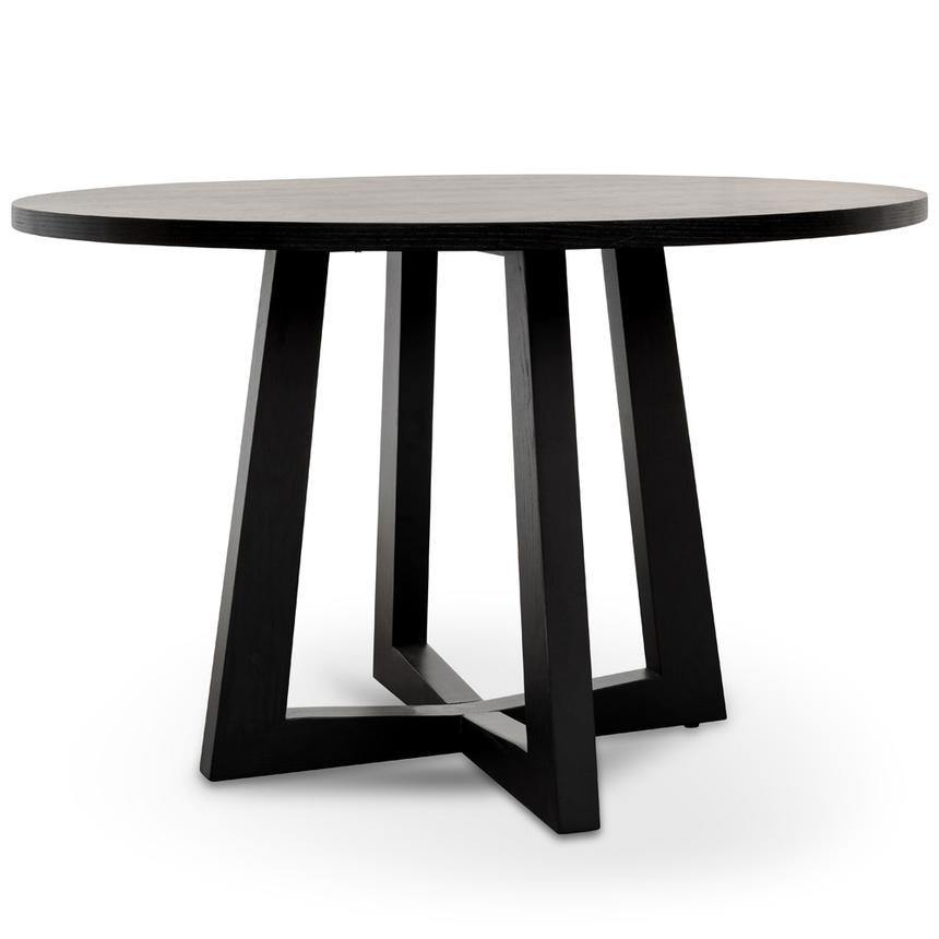 KROWN round black dining table DINING TABLE Bedroom Factory