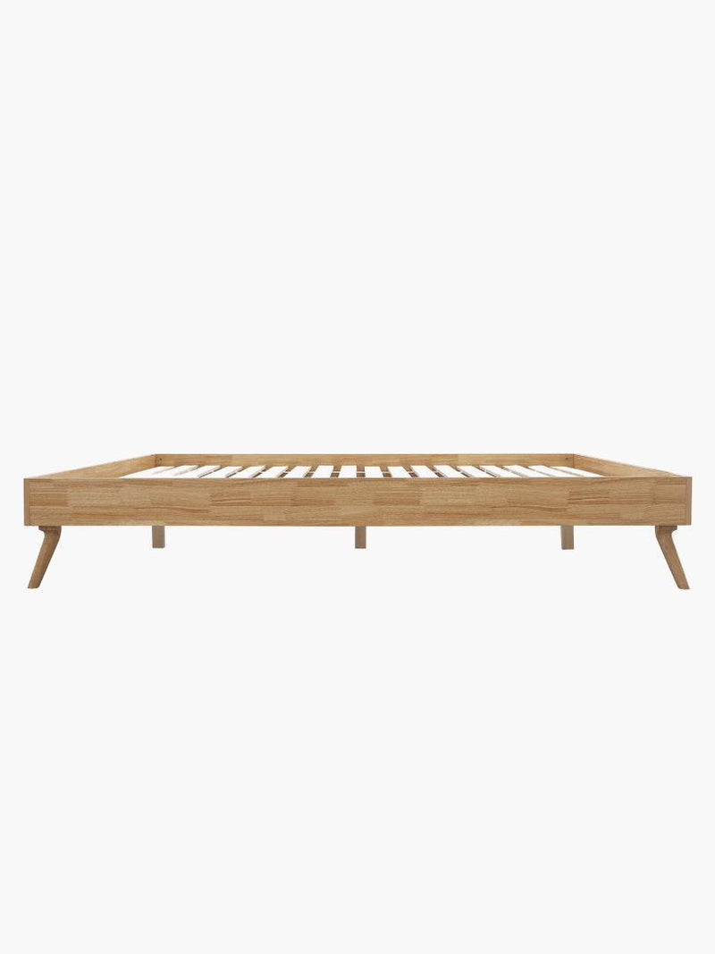 SCANDI Wood Oak Designer Bed Base Bed Base Bedroom Factory