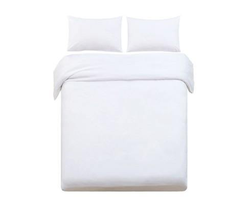LUXE White Night Quilt Cover Set Bedding Bedroom Factory