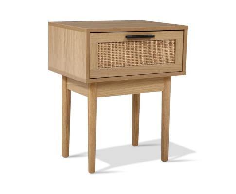 MARISAH Rattan Bedside Table Bedside Table Bedroom Factory