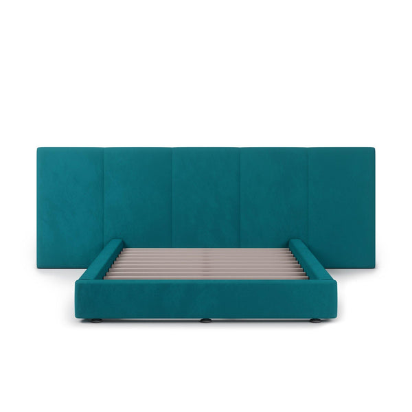 FELUXE Velvet Plush Millard Fabric Bed Frame (Australian Made)