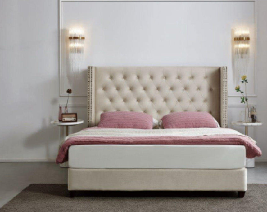 TARLIA Fabric Bed Frame - Australian Made Bed Frames Bed Frame Bedroom Factory