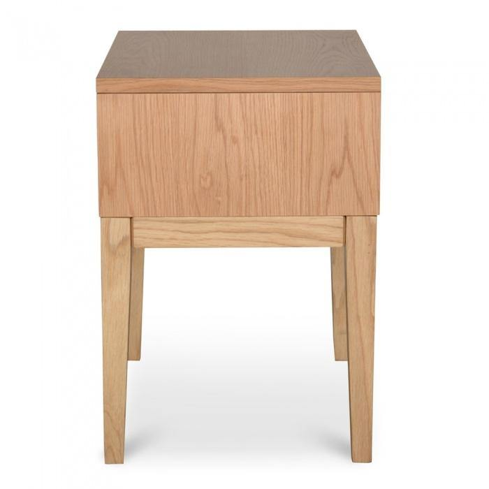 KATER Natural Oak Bedside Table Bedside Tables Bedroom Factory