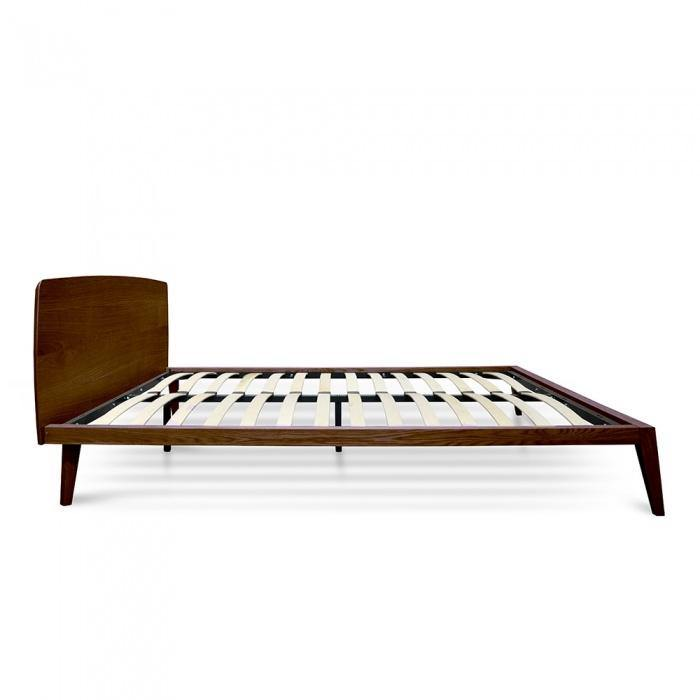 MADE Walnut Wood Bed Frame Bed Frame Bedroom Factory