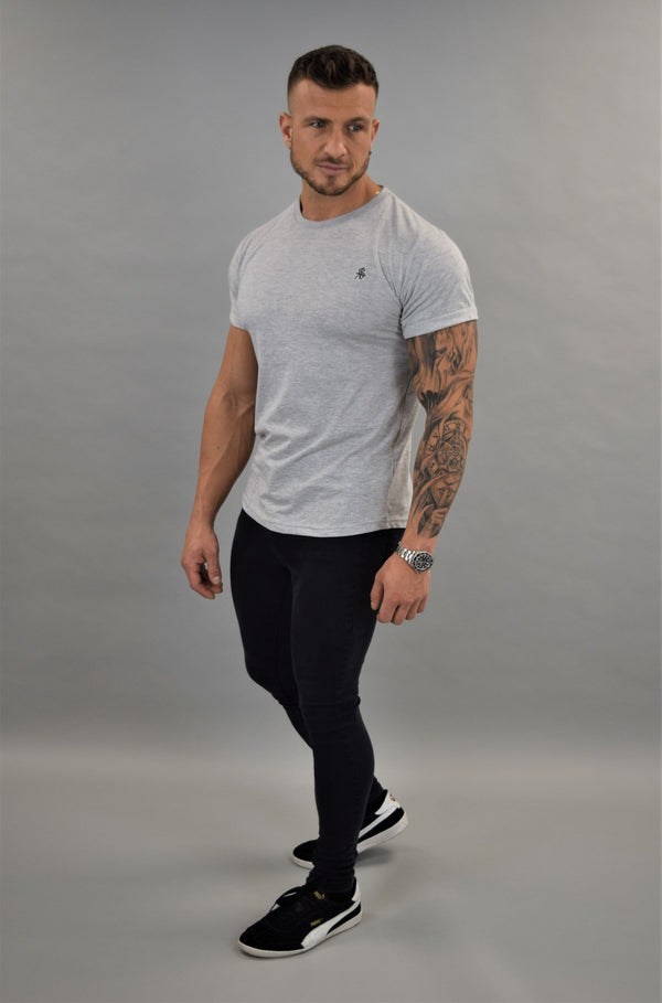 Grey Slim Fit Tshirt