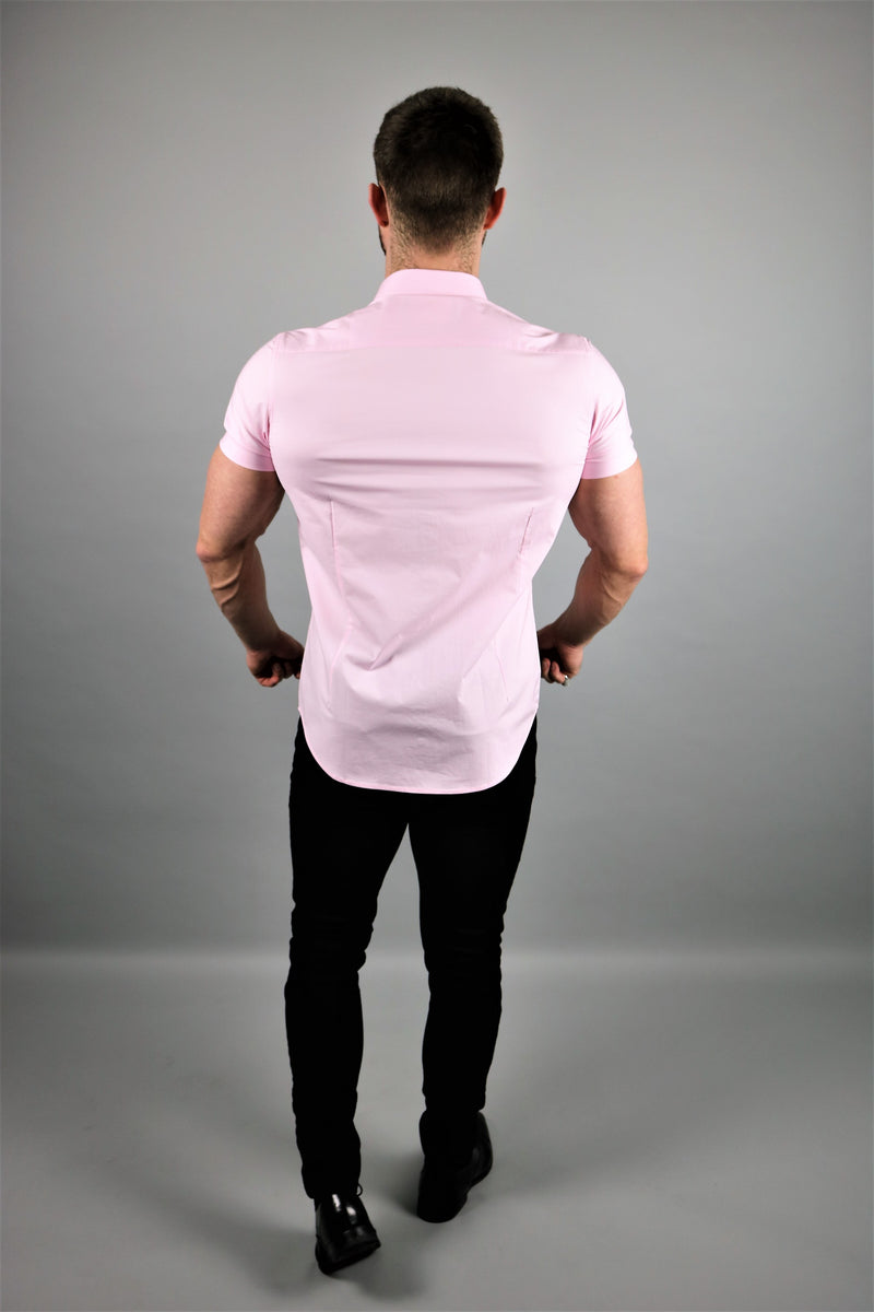 Lux Pink Short Sleeve Shirt