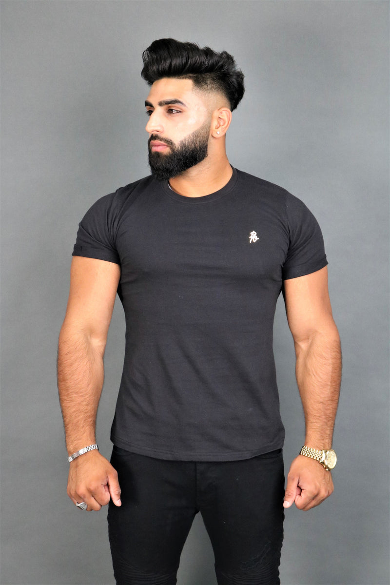 Lux Signature Black T-Shirt
