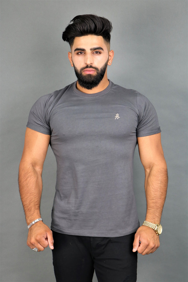 Lux Signature Slate Grey T-Shirt