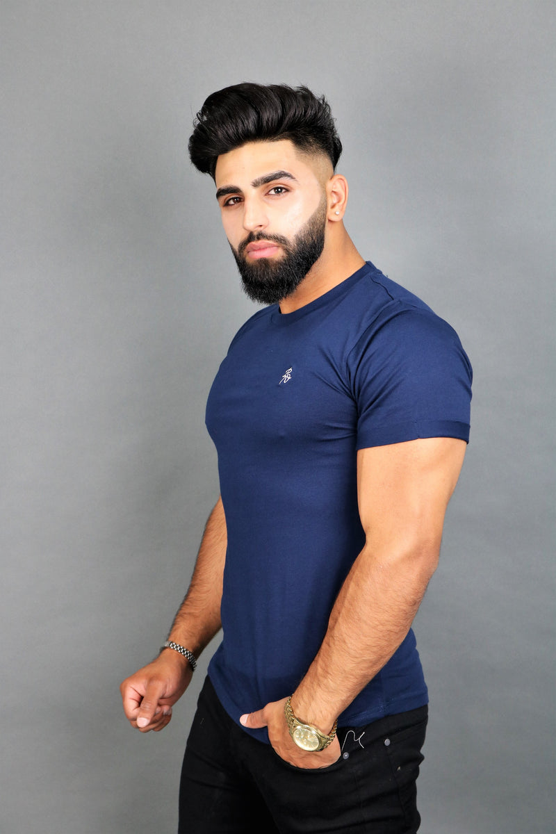 Navy Blue Lux T-Shirt
