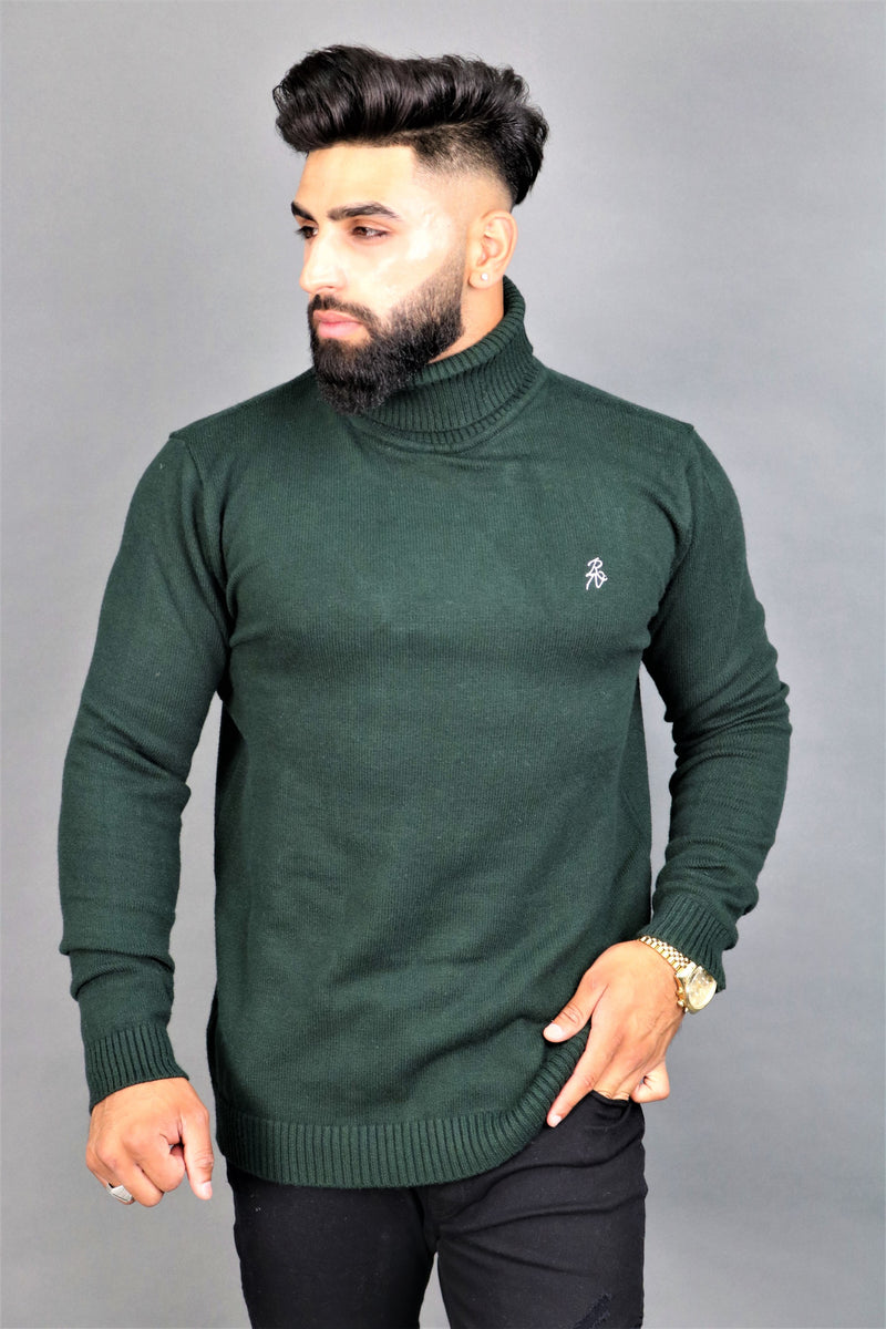 Green Turtle Neck
