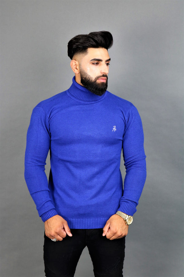 Blue Turtle Neck
