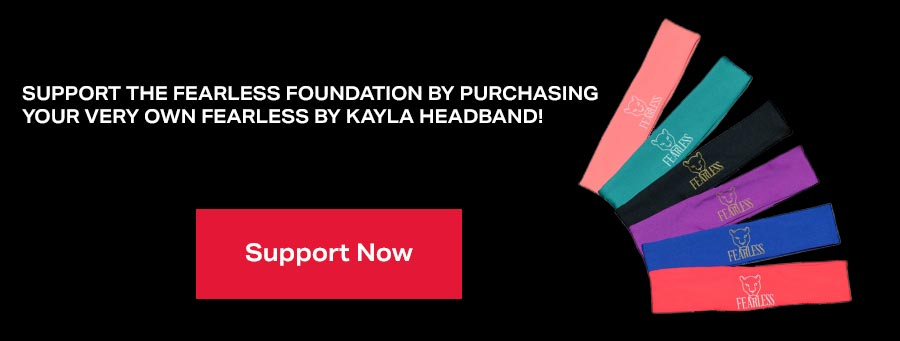 Fearless by Kayla Harrison Headband