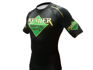Premier Martial Arts Kids Short Sleeve Rashguard, #4560R