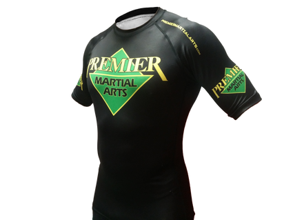 Premier Martial Arts Short Sleeve Womens Rashguard