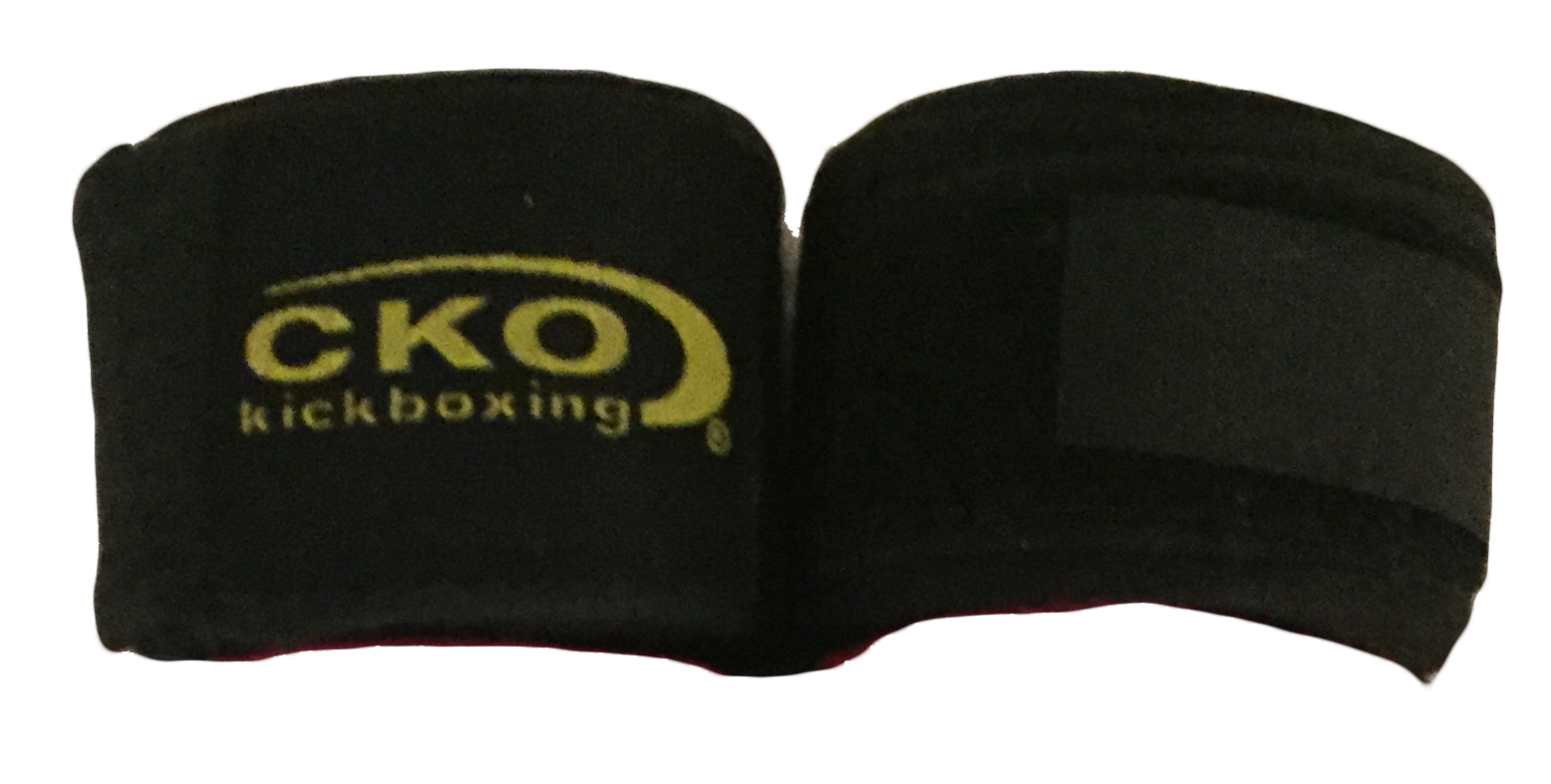 "CKO 180"" Black Hand Wraps"