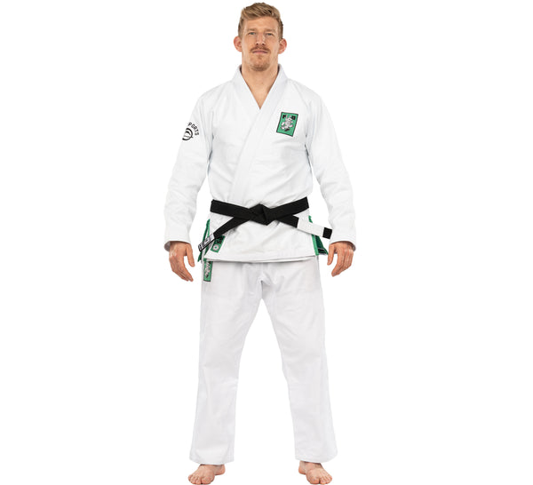 Luck of the Irish BJJ Gi White