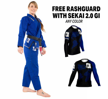 Womens Sekai Gi/ Rashguard Bundle (2 items)