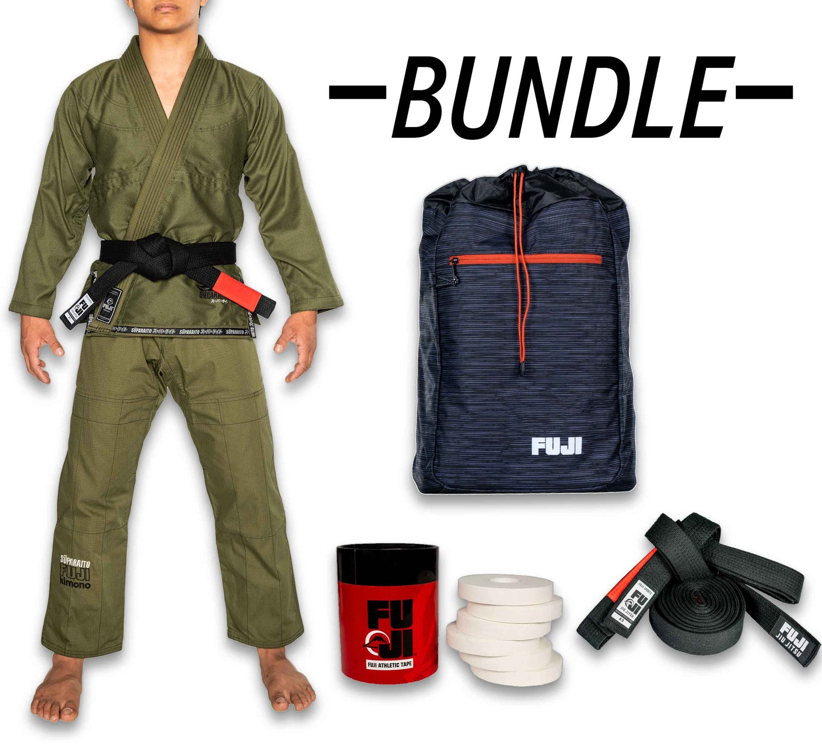 Suparaito BJJ Gi Bundle (4 items)