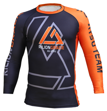 Rilion Gracie Long Sleeve Kids Rashguard