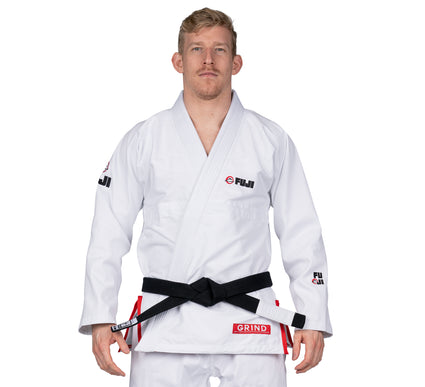 LIMITED EDITION: Grind BJJ Gi White