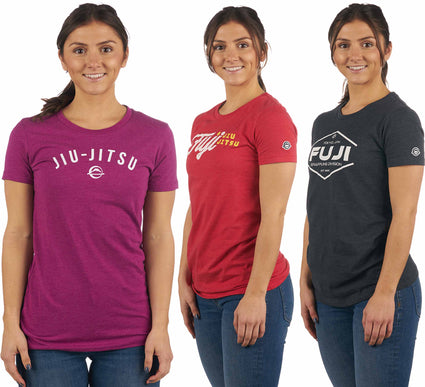 Women's Jiu Jitsu T-Shirt Bundle (3 Items)