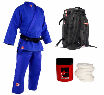 Euro Comp Judo Gi plus Duffle Bundle (3 Items)