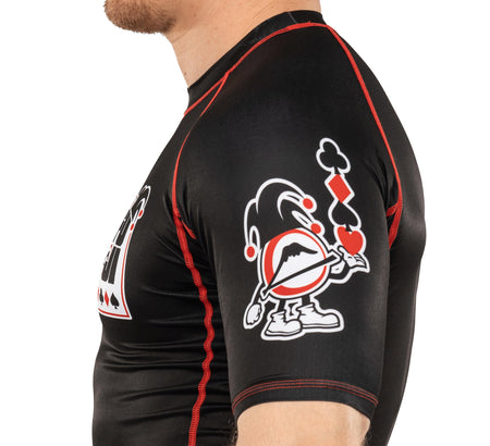 Jester Short Sleeve Rashguard Black
