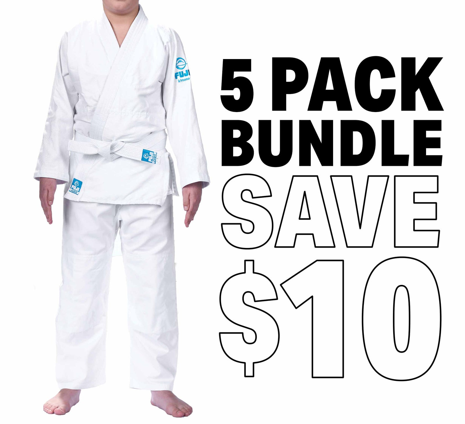 Starter Judo Kids Gi Bundle (5 Pack)