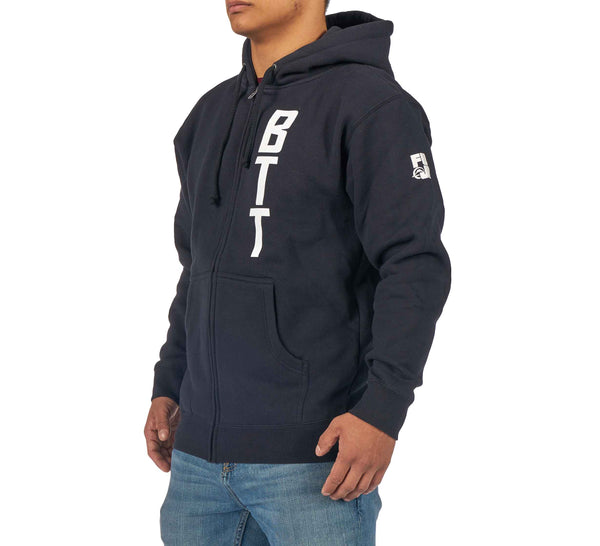 BTT Navy Hoodie - adult and youth