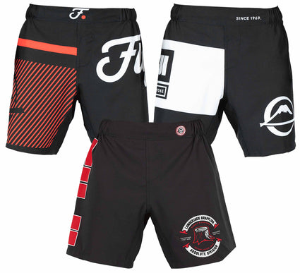 Mixed Grappling Shorts 3-Pack Bundle (3 Items)