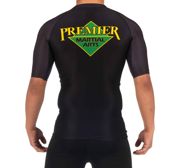 Premier Martial Arts Short Sleeve 2020 Kids Rashguard