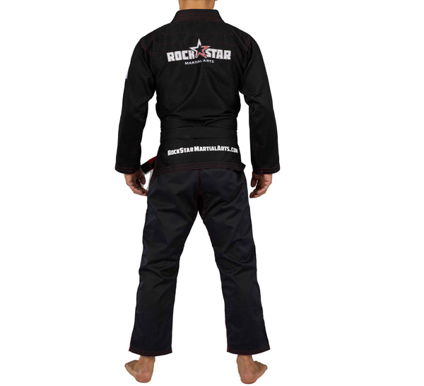 Rockstar MA Kids Black Gi
