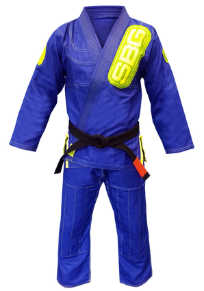 SBG Super Lite Competition Blue & Green Gi