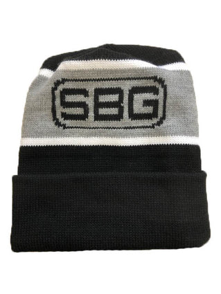 SBG Striped Knit Hat